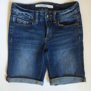 Joe's Jean's Bermuda Jean Shorts (Girl's 8)